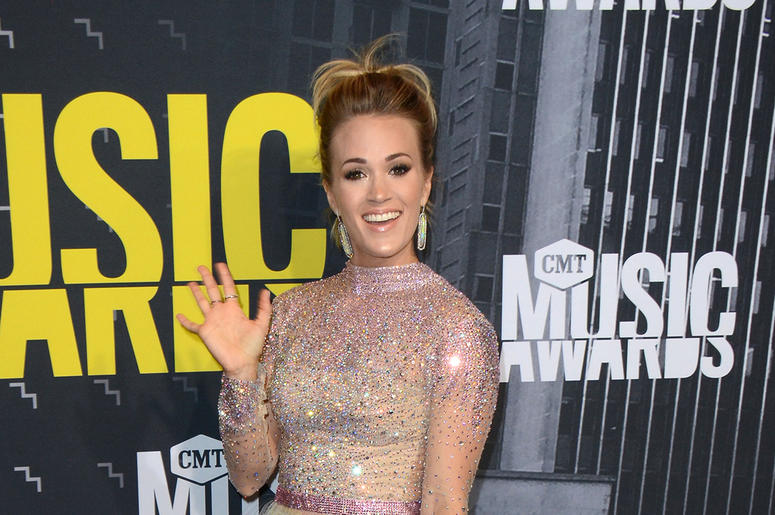 Carrie Underwood at CMT Music Awards