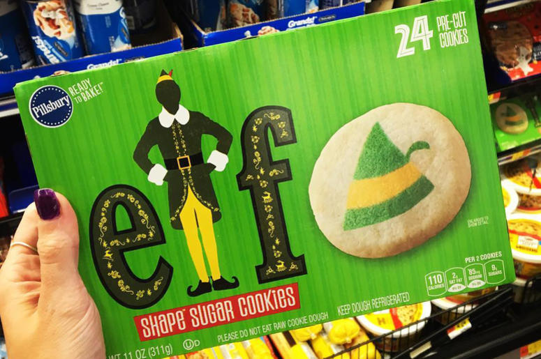 Pillsbury Releasing Elf Sugar Cookies Y108