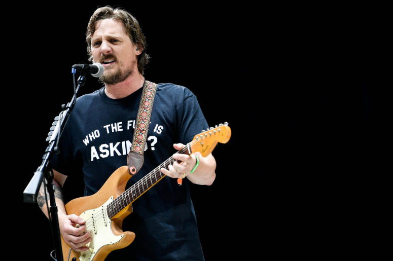 Sturgill Simpson performs at the Bonnaroo Music and Arts Festival.