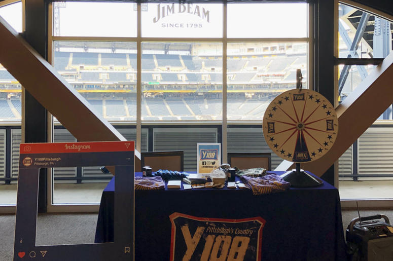 Y108 PNC Park Jim Beam