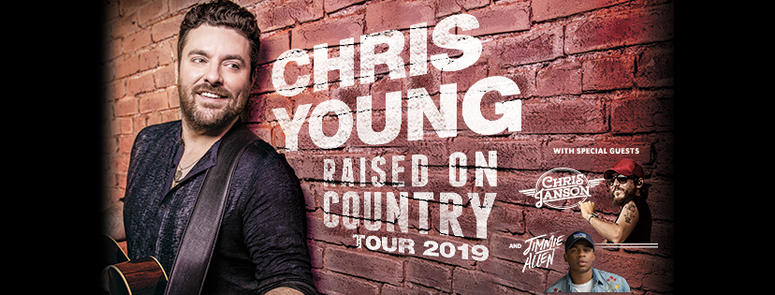 Chris Young Raised On Country Tour