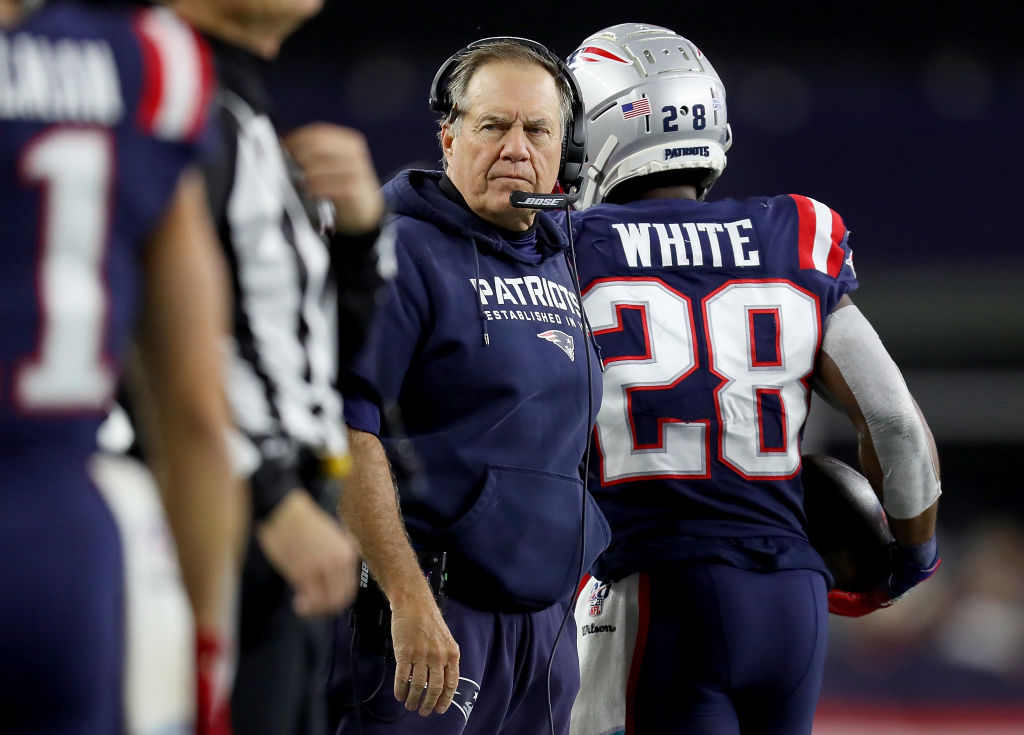 Patriots getting 'much needed' few extra days off