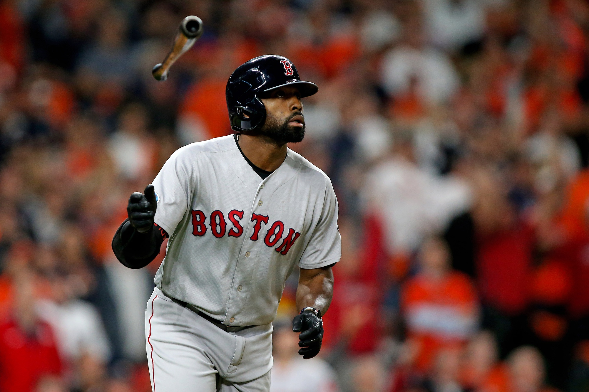 Red Sox lineup: Jackie Bradley Jr. to start on bench to open series vs. Astros