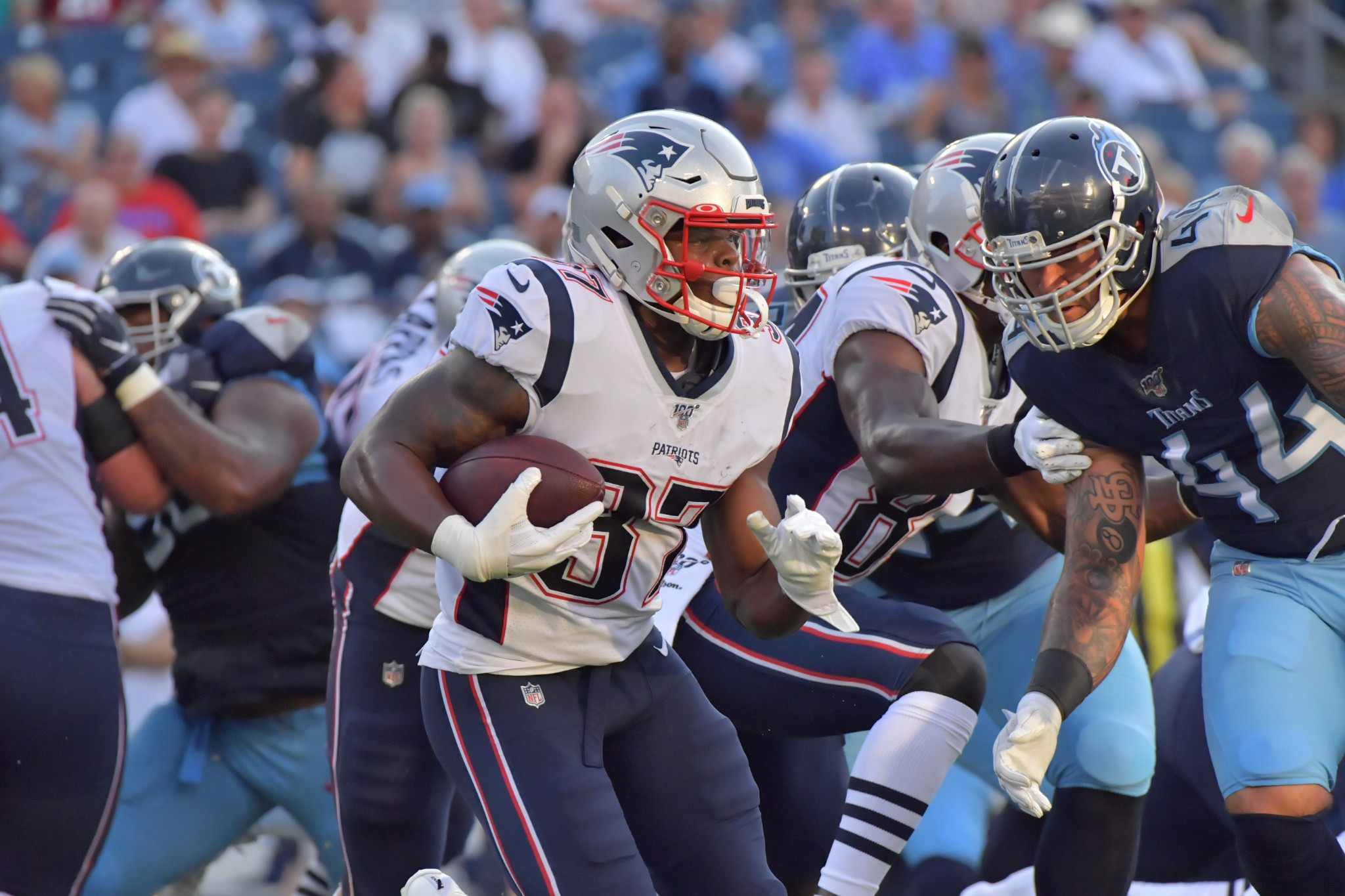Patriots inactives: Damien Harris can't crack game day roster once