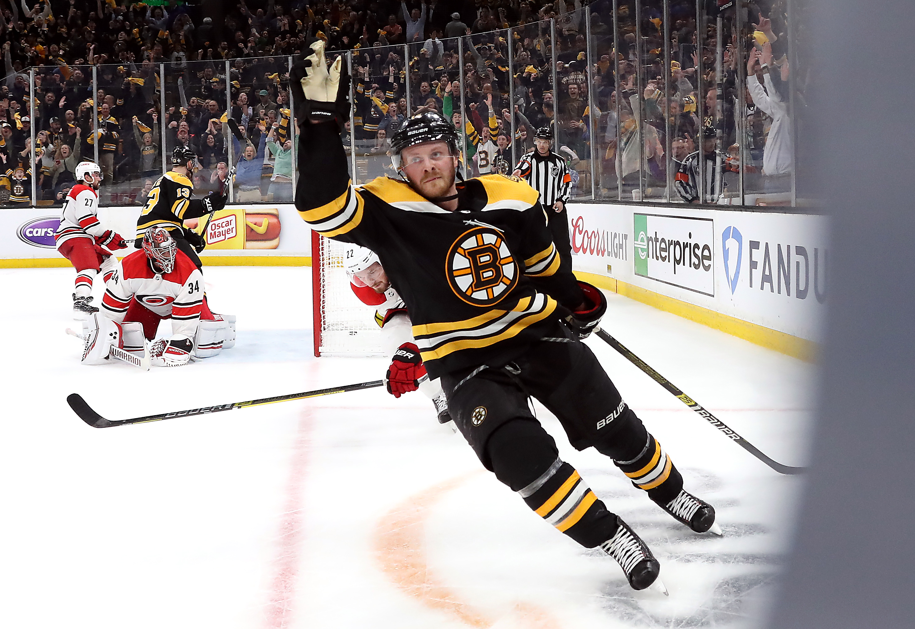 Chris Wagner nearly made it back in Bruins lineup after remarkable