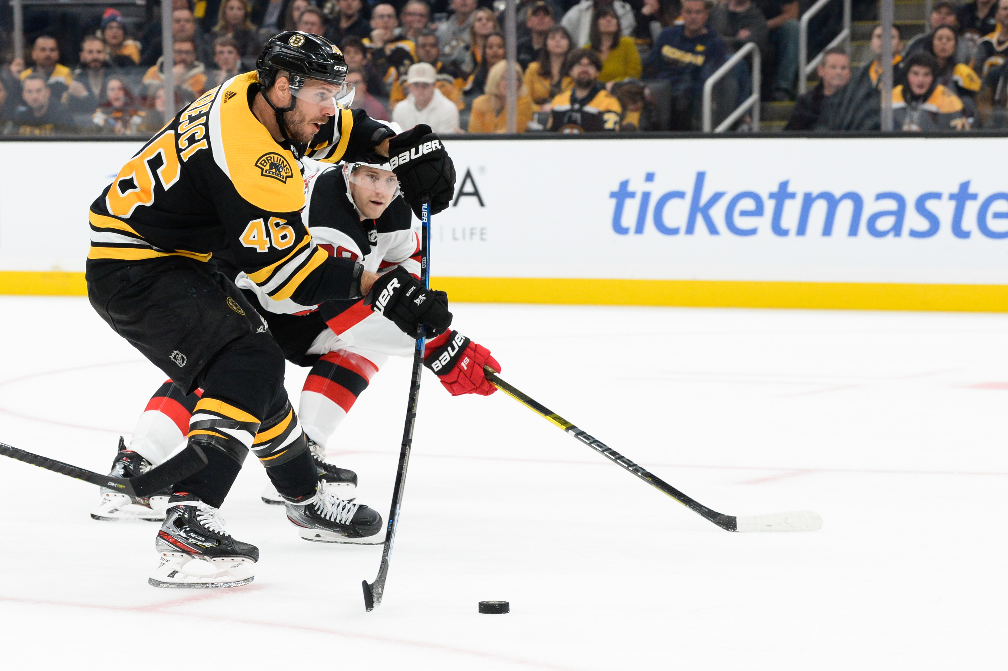 David Krejci questionable as Bruins matchups with Lightning, Leafs