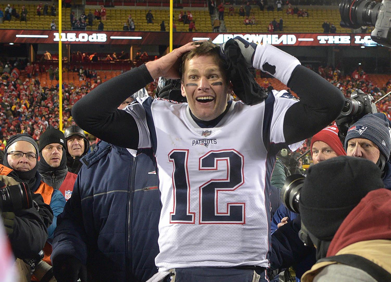 Tom Brady, 3 other Patriots make NFL top-100 list