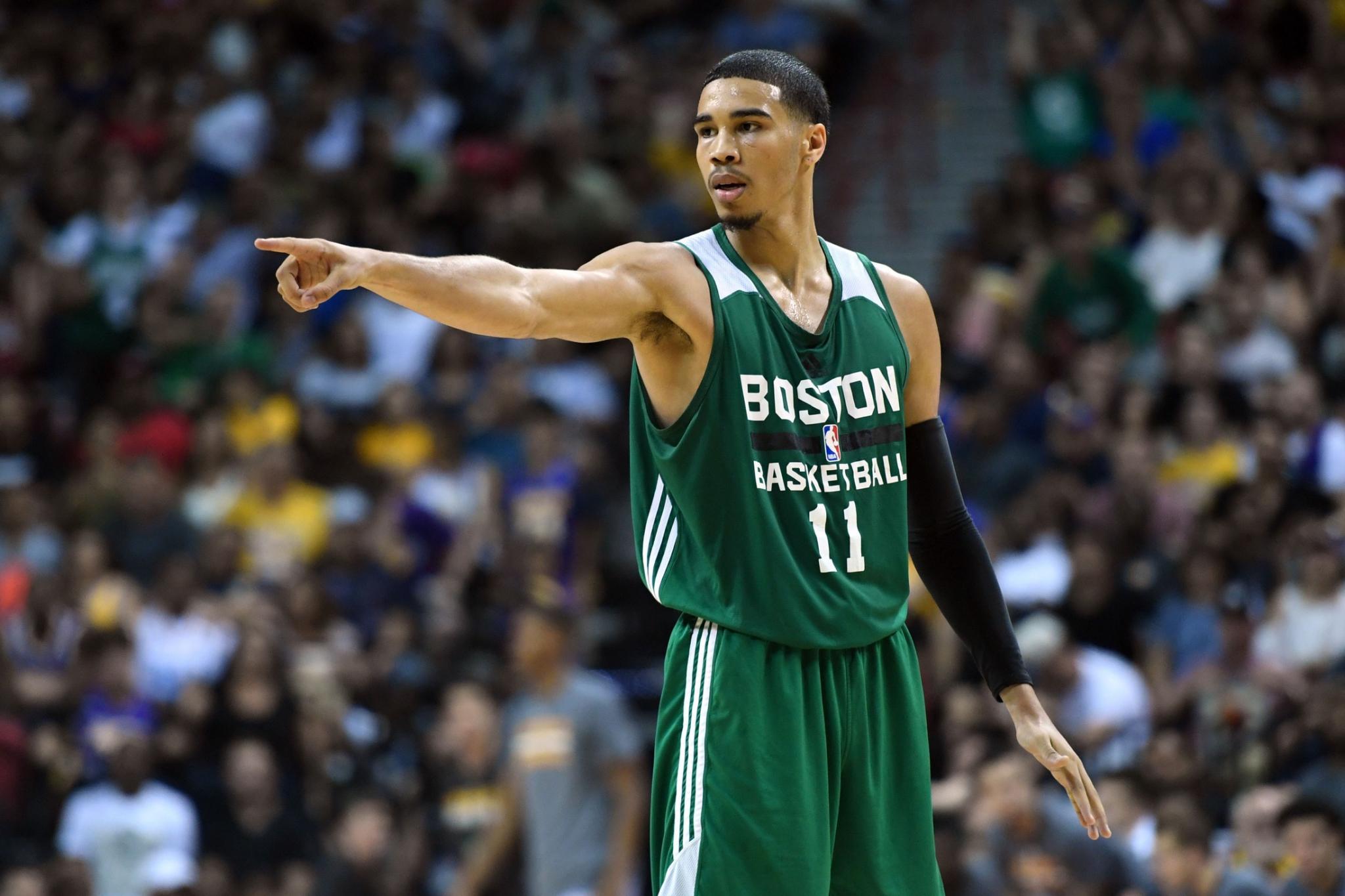 best loved 205af f3d72 Celtics rookie class unveils 'new' Nike jerseys | WEEI