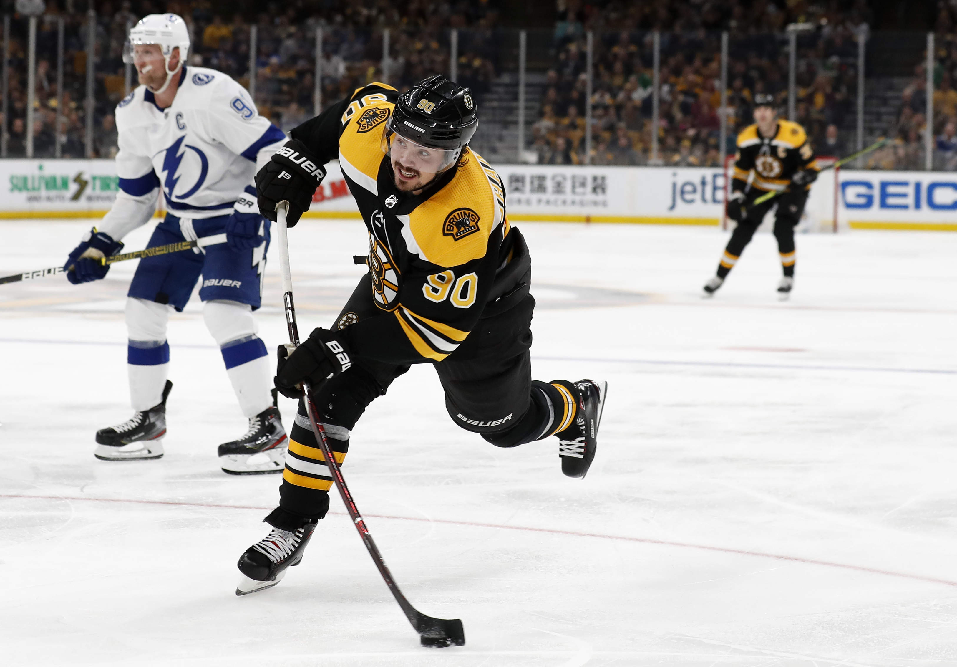 Bruins forward Marcus Johansson was scratched for Game 2