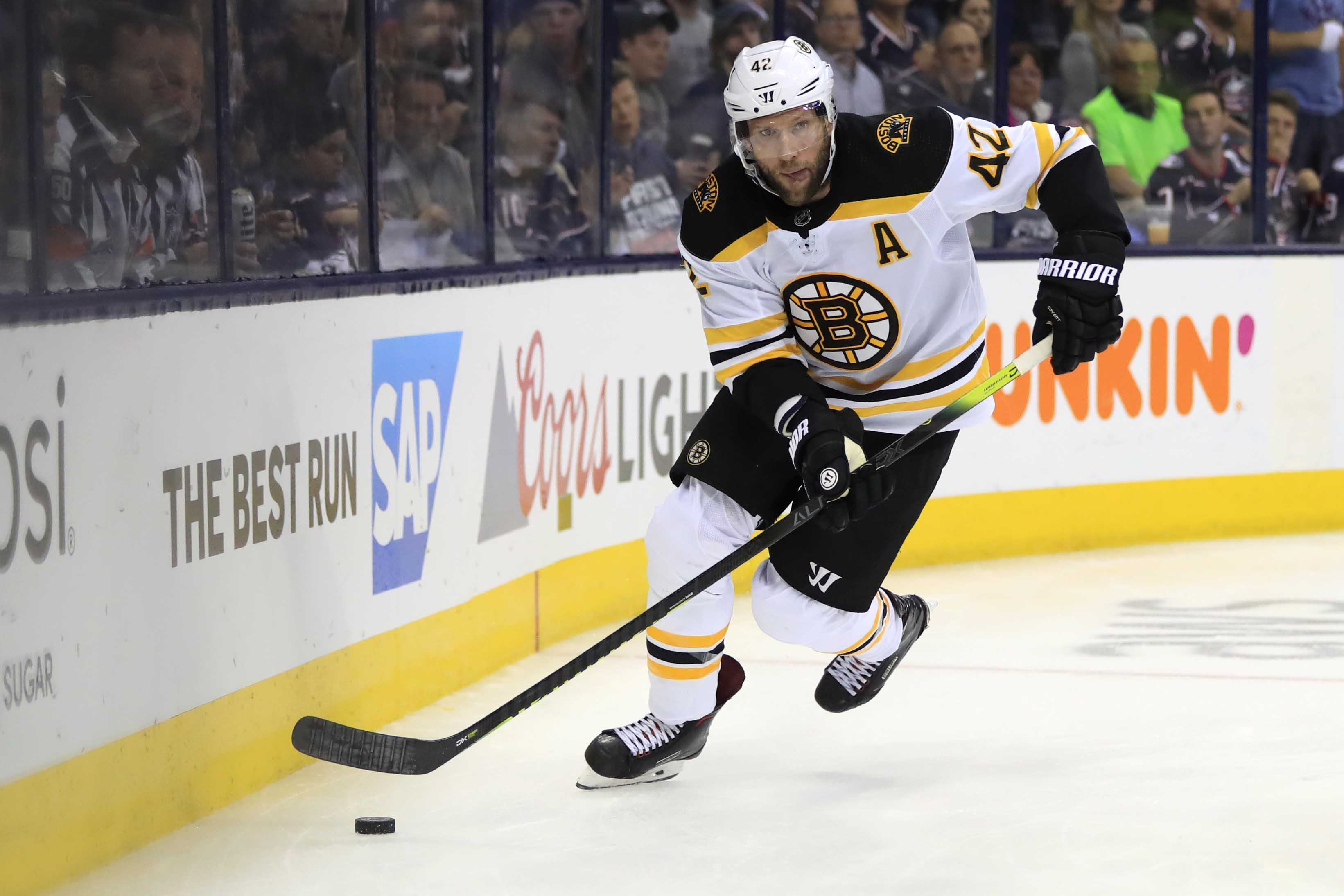 Agent: David Backes 'healthy and ready to go' when Bruins open camp