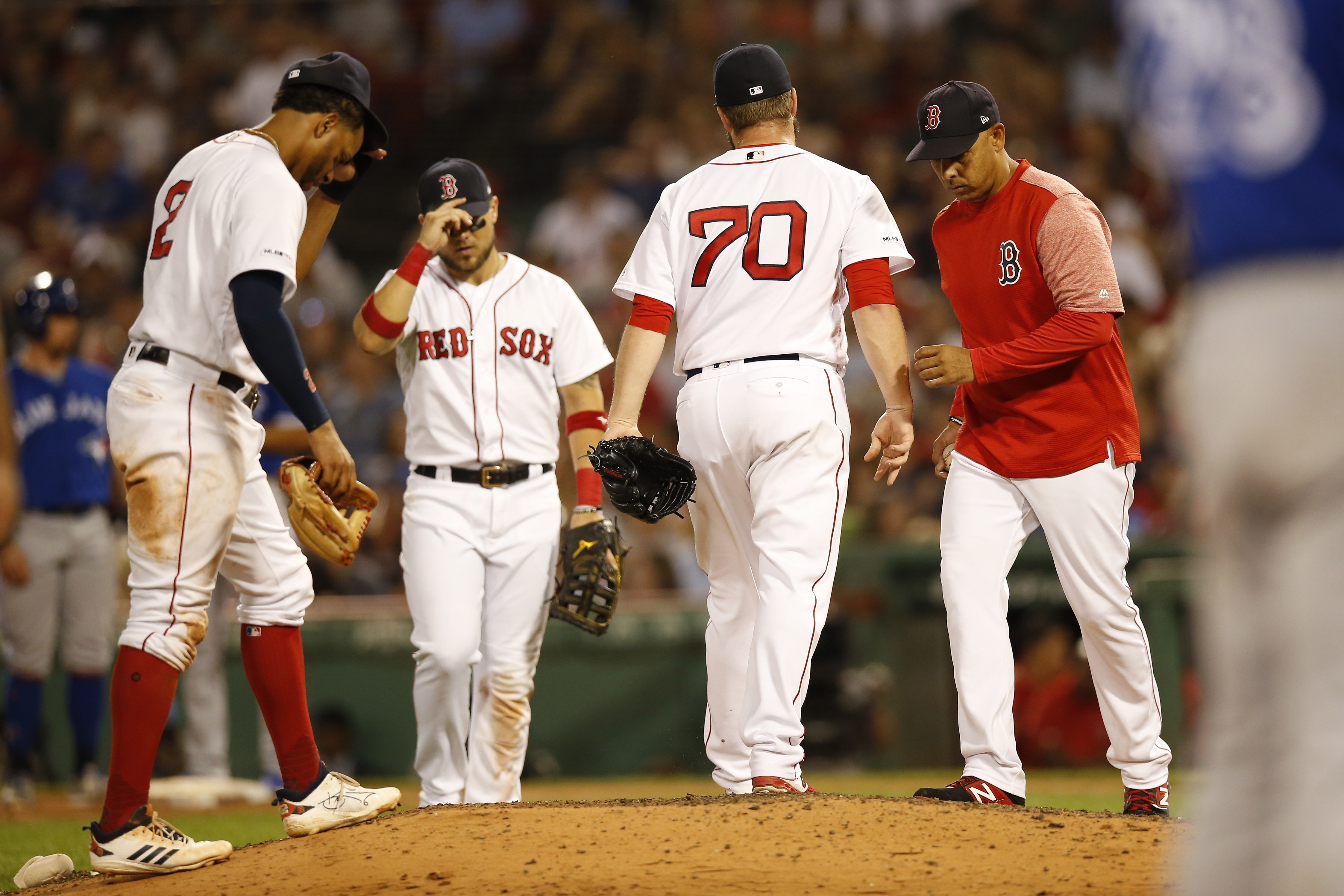 Hard reality beginning to set in for Red Sox of they are what they are