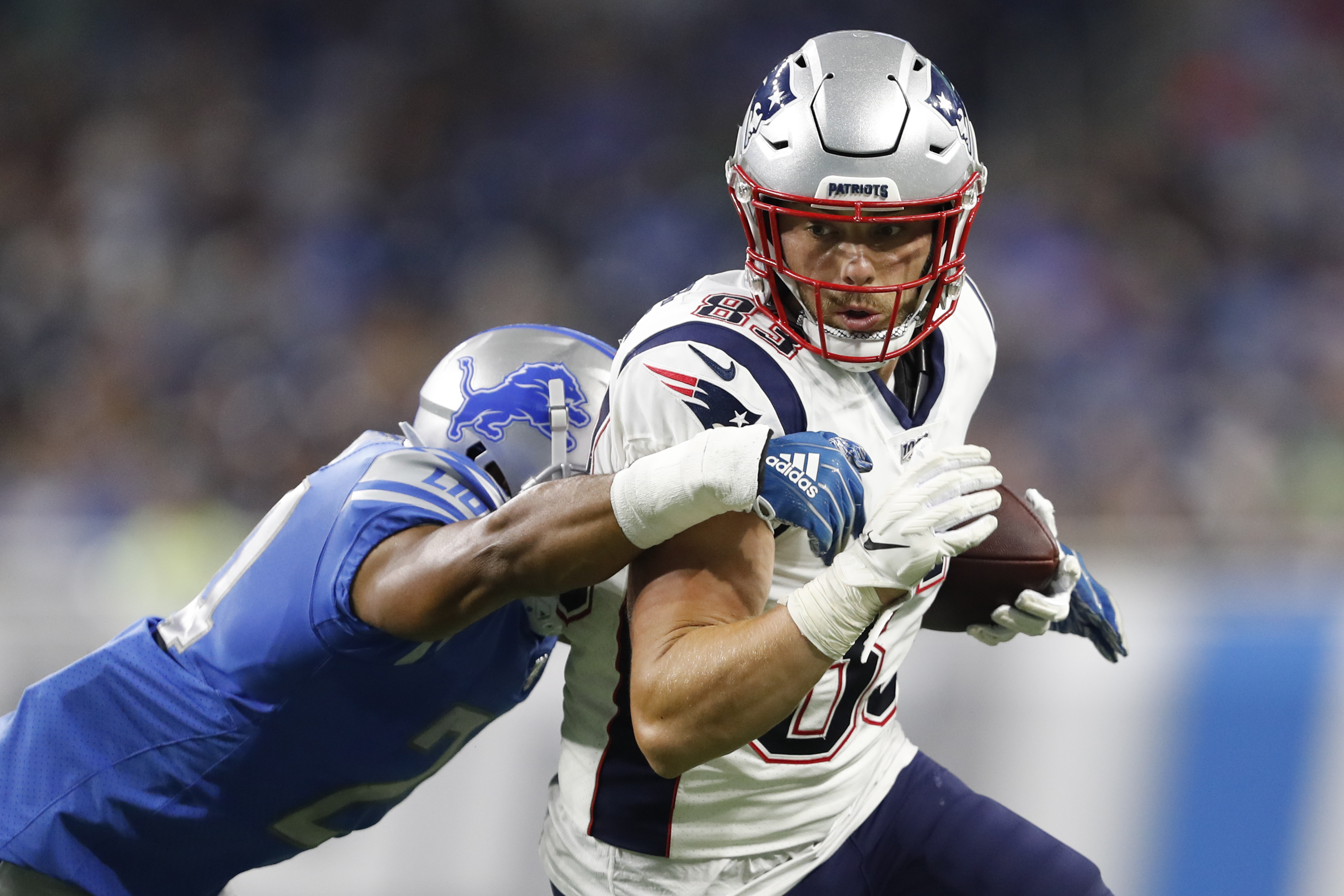 size 40 5c778 1182f Tight end Matt LaCosse not expected to play vs. Steelers   WEEI