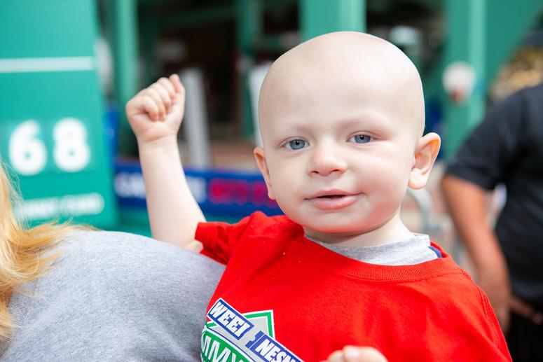 Johnny Morris, 3, Neuroblastoma.