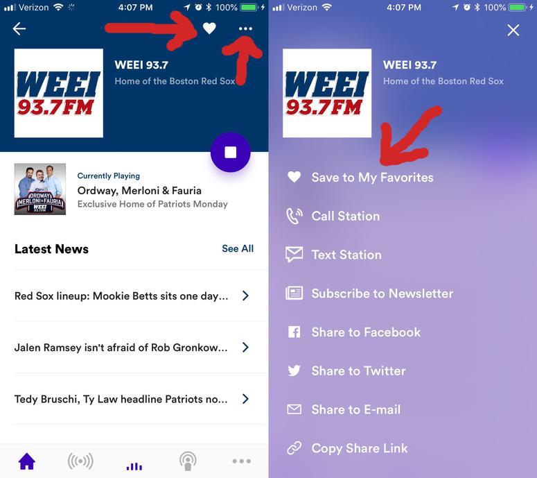 WEEI App | Boston Sports Radio App - Download Now | RADIO COM
