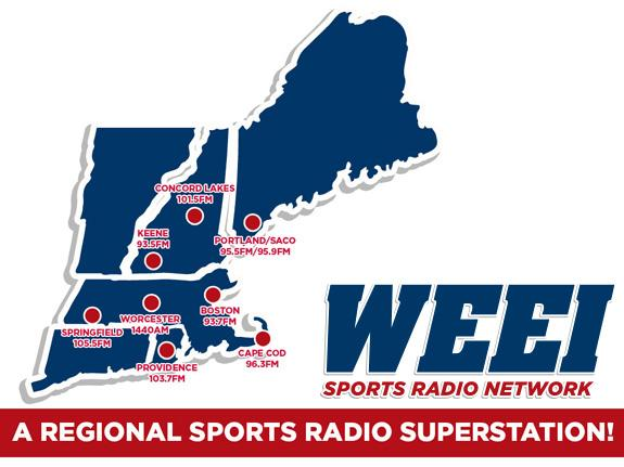 Boston Radio Stations >> Boston Sports Radio Stations Weei Network Radio Com