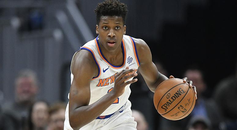 Knicks Exercise Team Option On Frank Ntilikina