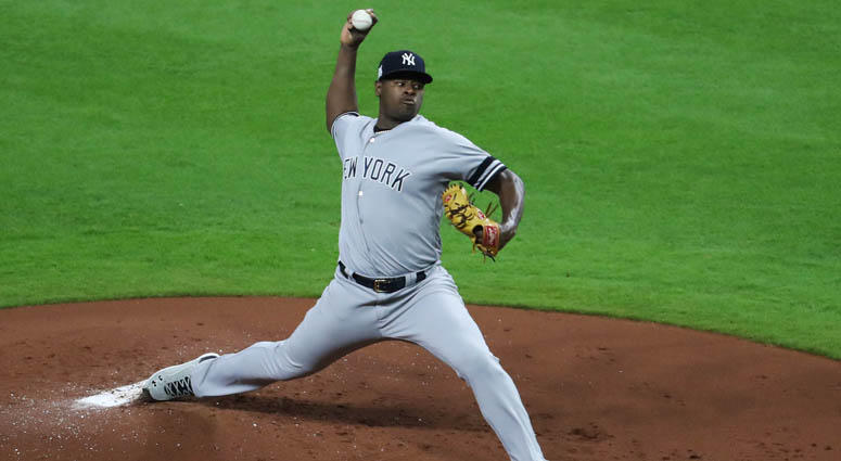 Yankees pitcher Luis Severino