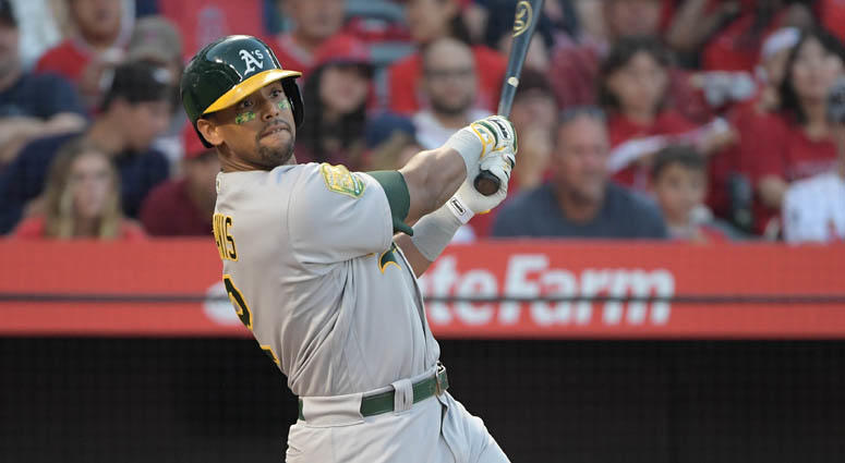 Oakland Athletics slugger Khris Davis
