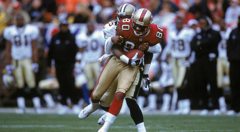 Jerry Rice in 2000