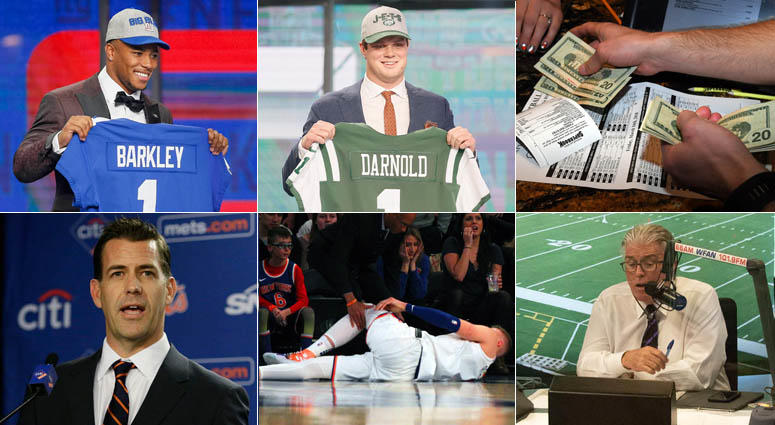 Top Local Sports Stories Of 2018 | WFAN Sports Radio 66AM