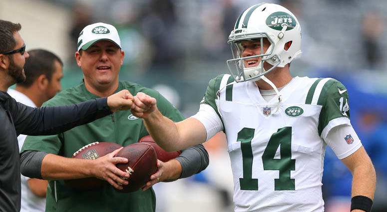 eed3243a618 Jets' Sam Darnold Shines In Act 1 Of His Own Story | WFAN Sports ...