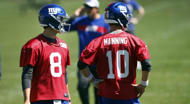 ac387afc With Daniel Jones Waiting, When Do Giants Sit Eli Manning? | WFAN ...