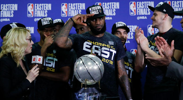 b4f31fc9b3db Keidel  LeBron Wills Cleveland To NBA Finals In Spite Of Supporting Cast