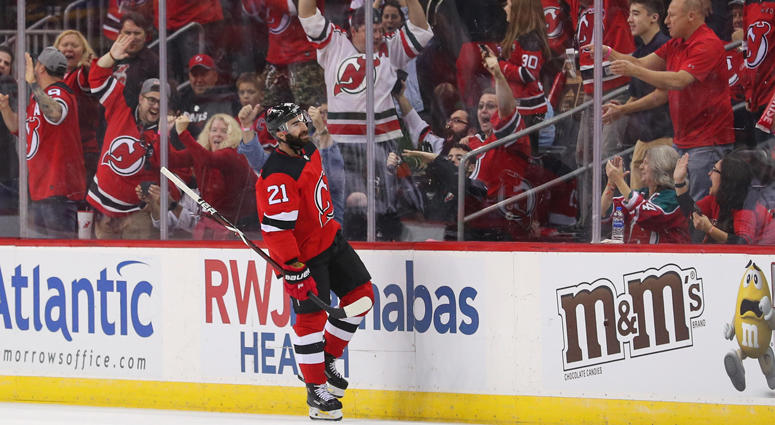 finest selection 12981 7028d Devils Notes: Kyle Palmieri Off To Hot Start   WFAN Sports ...
