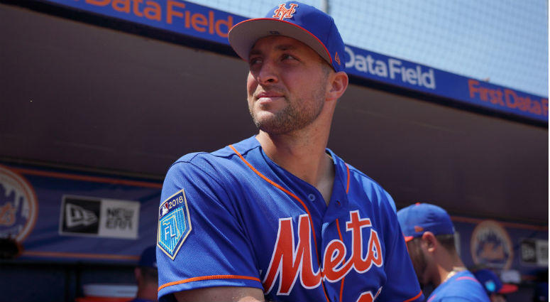 brand new f6c15 d0da8 The Mets Should Consider Promoting Tim Tebow To The Majors ...