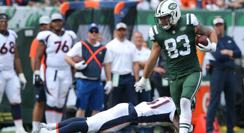 new arrivals f2066 bf357 Jets Place Eric Tomlinson On IR After Weight Room Incident ...