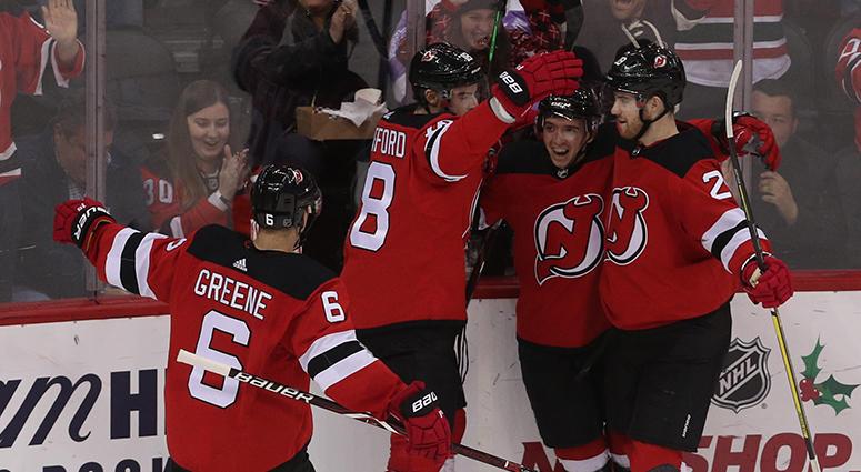 New Jersey Devils Hockey Team Game