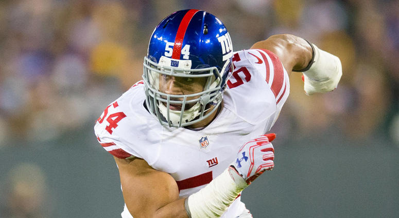 Giants edge rusher Oliiver Vernon