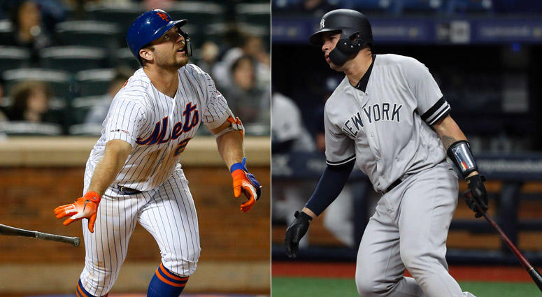 Pete Alonso and Gary Sanchez