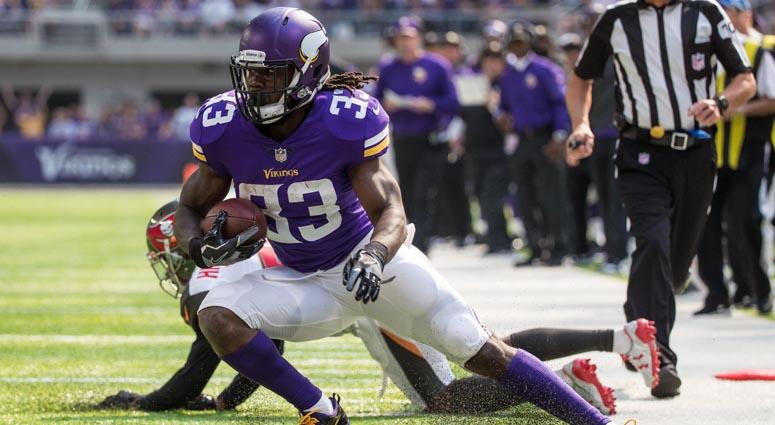 Minnesota Vikings running back Dalvin Cook