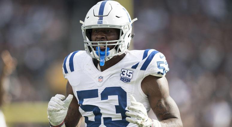 Colts linebacker Darius Leonard