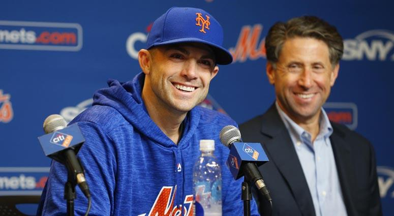 Mets third baseman David Wright speaks during a news conference on Sept. 13, 2018, at Citi Field.