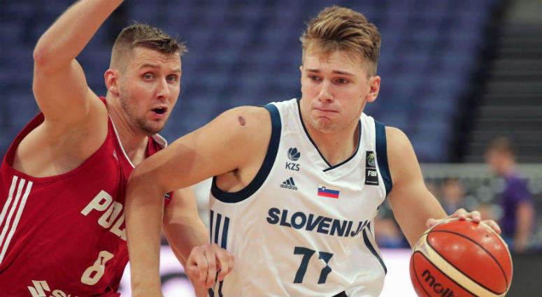 Slovenia player Luka Doncic