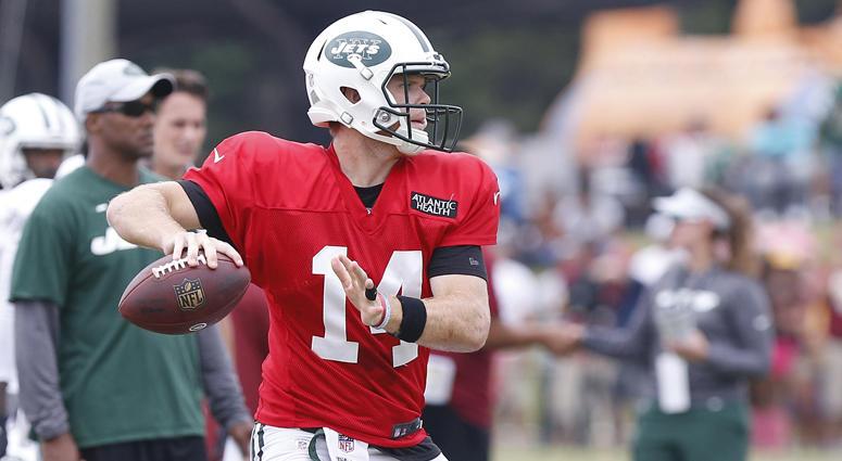 Jets quarterback Sam Darnold