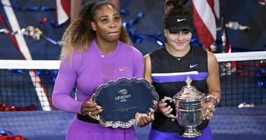 Serena Williams and Bianca Andreescu