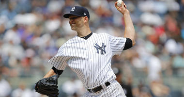 Yankees pitcher J.A. Happ