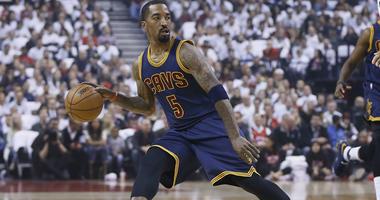 Cavaliers point guard J.R. Smith