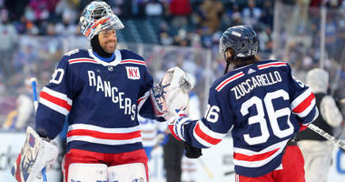 Henrik Lundqvist and Mats Zuccarello