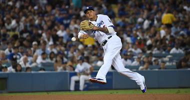 Dodgers shortstop Manny Machado