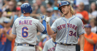 Jeff McNeil and Noah Syndergaard