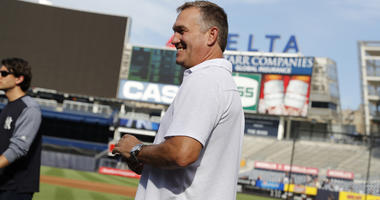 Tim Naehring at Yankee Stadium. Credit: New York Yankees -- All Rights Reserved
