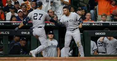 Giancarlo Stanton and Gleyber Torres