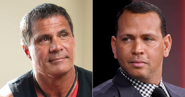 Jose Canseco and Alex Rodriguez