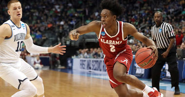 Collin Sexton is entering the NBA draft after playing one season at Alabama.