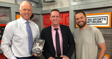 David Cone poses with Boomer and Gio on May 21, 2019.