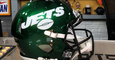 The new Jets helmet